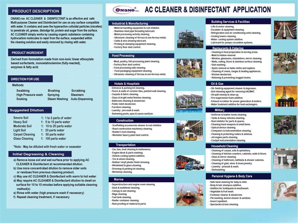 AC Cleaner & Degreaser